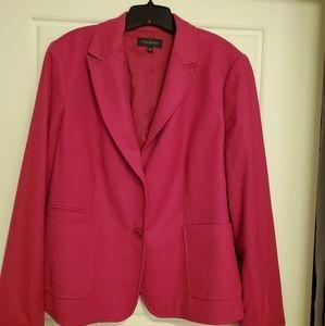 Talbots Pink Wool Blazer